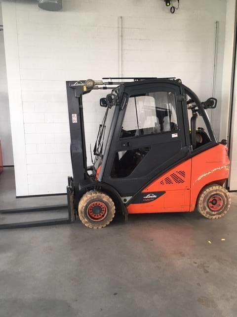 Linde H20T600/392, LPG trucks, Material Handling