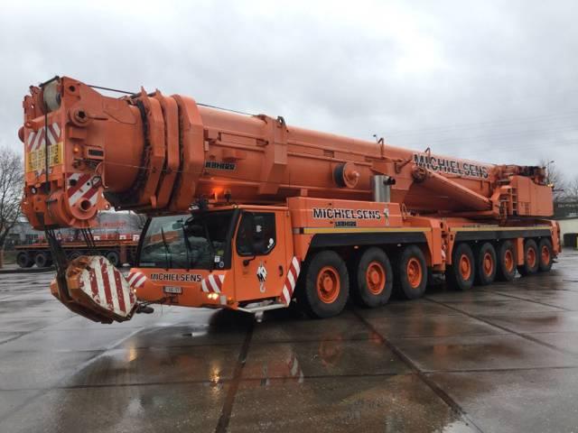 Liebherr LTM 1500-8.1, All terrain cranes, Construction
