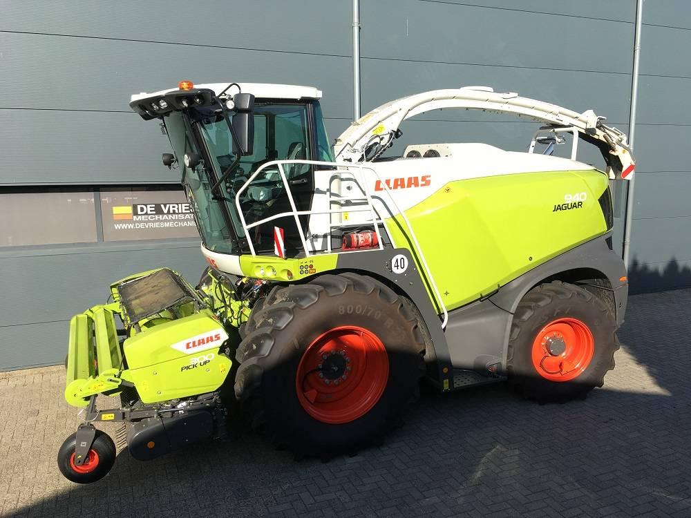 CLAAS Jaguar 940 Allrad, Forage harvesters, Agriculture