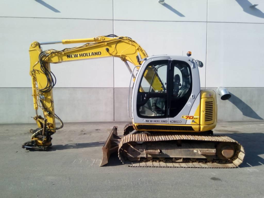 New Holland Kobelco E70sr, Midikaivukoneet 7t - 12t, Maarakennus