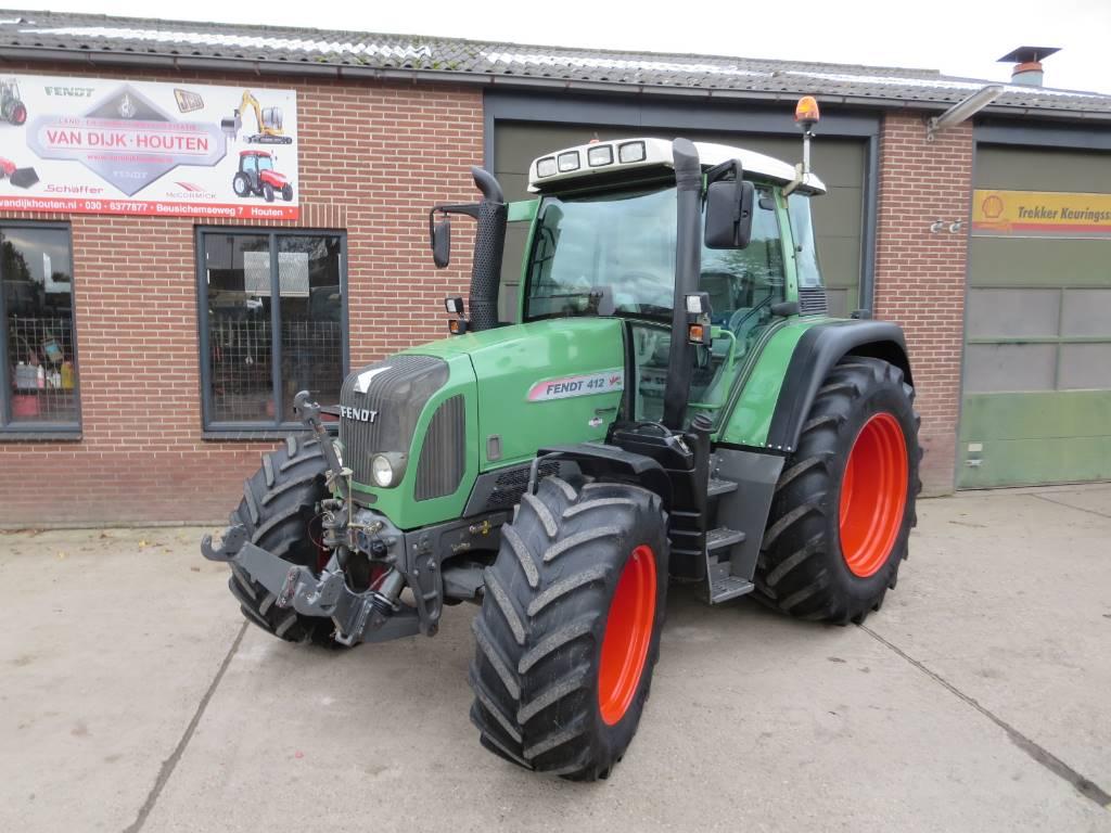Fendt 412 vario tms com-3, Tractoren, Landbouw