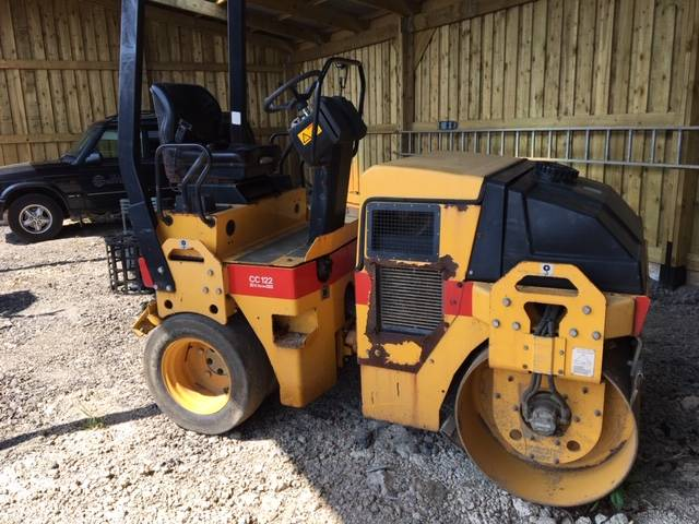 Dynapac CC 122 C, Twin drum rollers, Construction