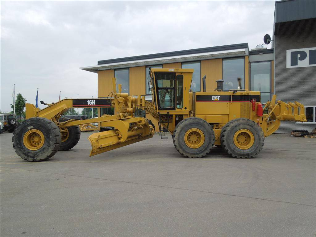 Caterpillar 16 H, Motor Graders, Construction Equipment