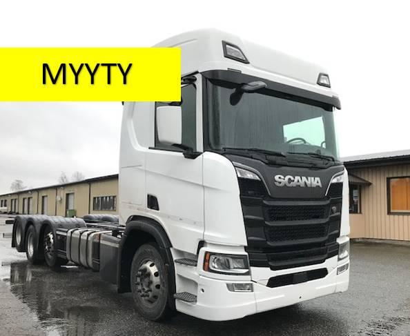 Scania R500 8x2 ADR/VAK, Kuorma-autoalustat, Kuljetuskalusto