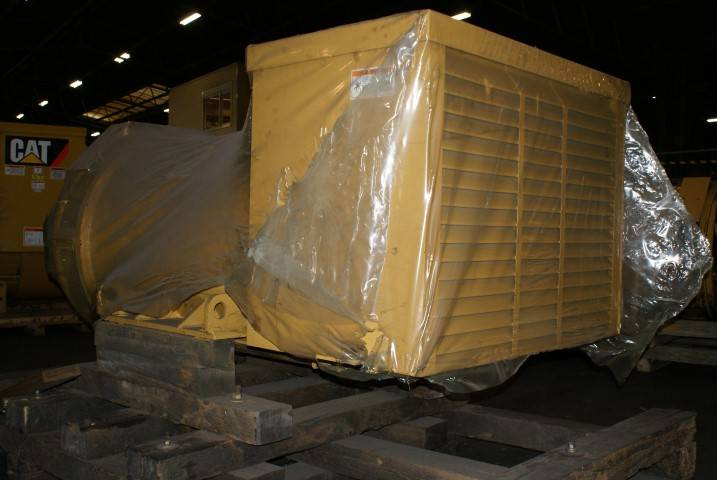 Caterpillar SR 4 - Generator end 800 kW - DPH 100094, Generator Ends, Construction