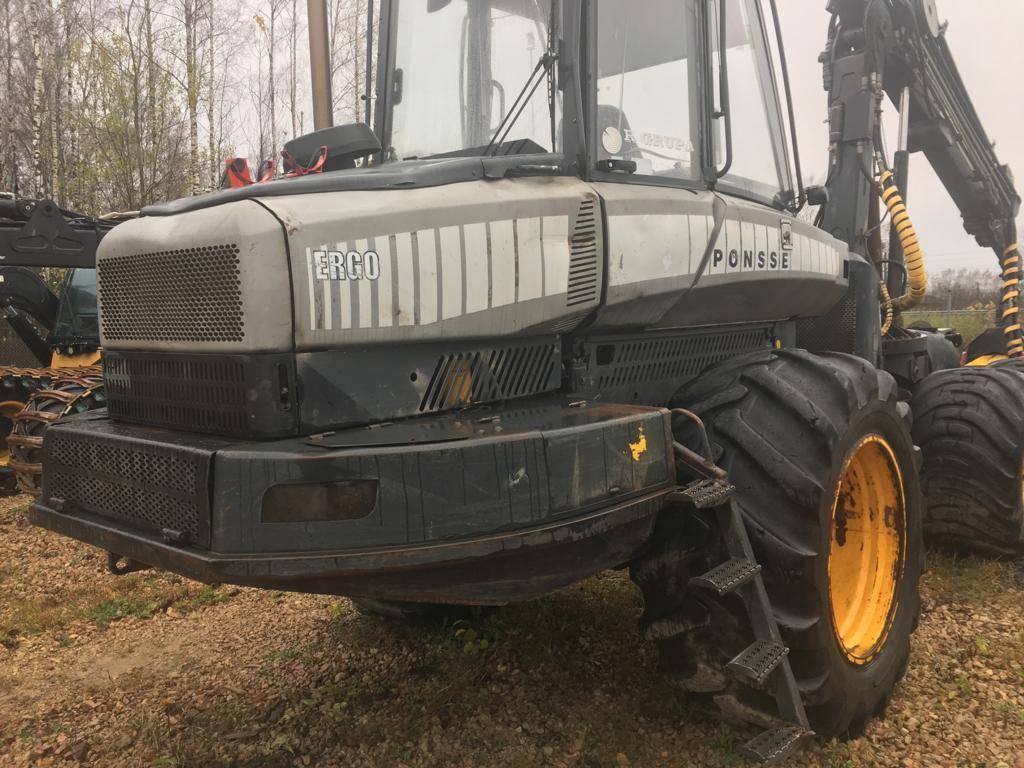 Ponsse Ergo 6W, Harvesterit, Metsäkoneet