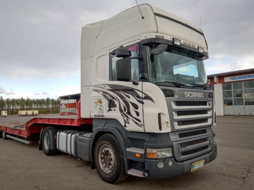 Scania R500 4x2 veturi, Vetopöytäautot, Kuljetuskalusto