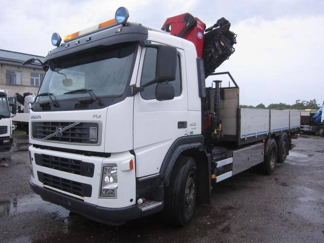 Volvo FM400, Boom / Crane / Bucket Trucks, Trucks and Trailers