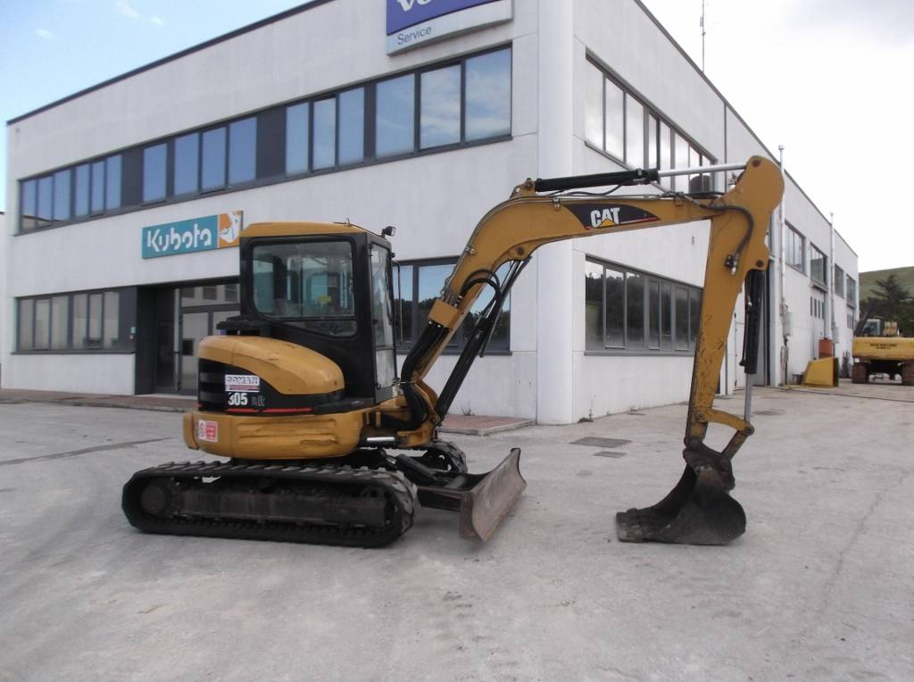 Caterpillar 305 CR, Mini Excavators <7t (Mini Diggers), Construction Equipment