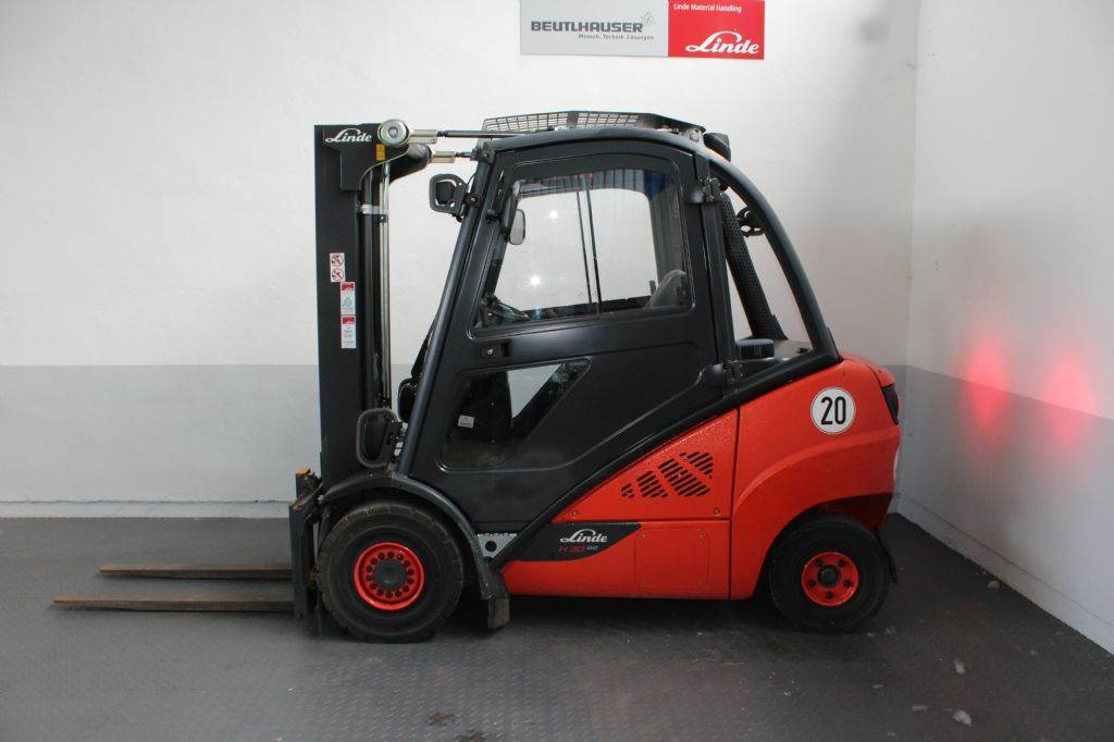 Linde H30D, Diesel-Stapler, Flurförderzeuge