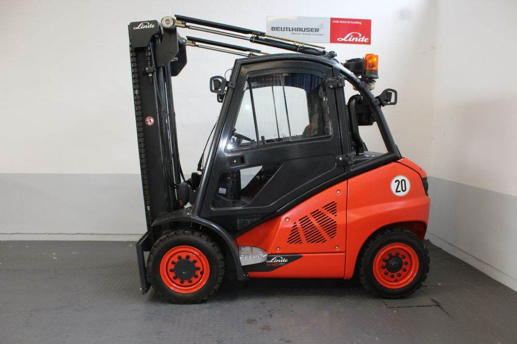 Linde H40D, Diesel-Stapler, Flurförderzeuge