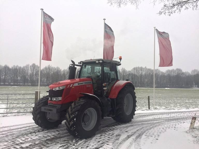 Massey Ferguson 7618 Dyna-VT Efficient, Tractoren, Landbouw