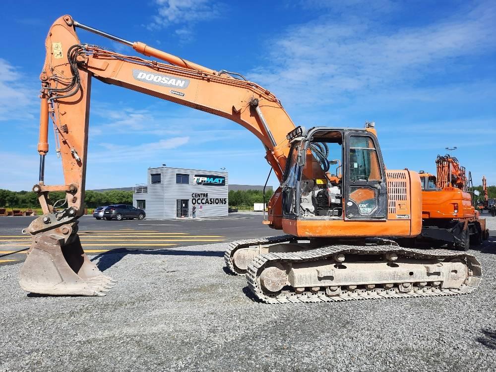 Doosan DX 235 LCR, Crawler Excavators, Construction Equipment
