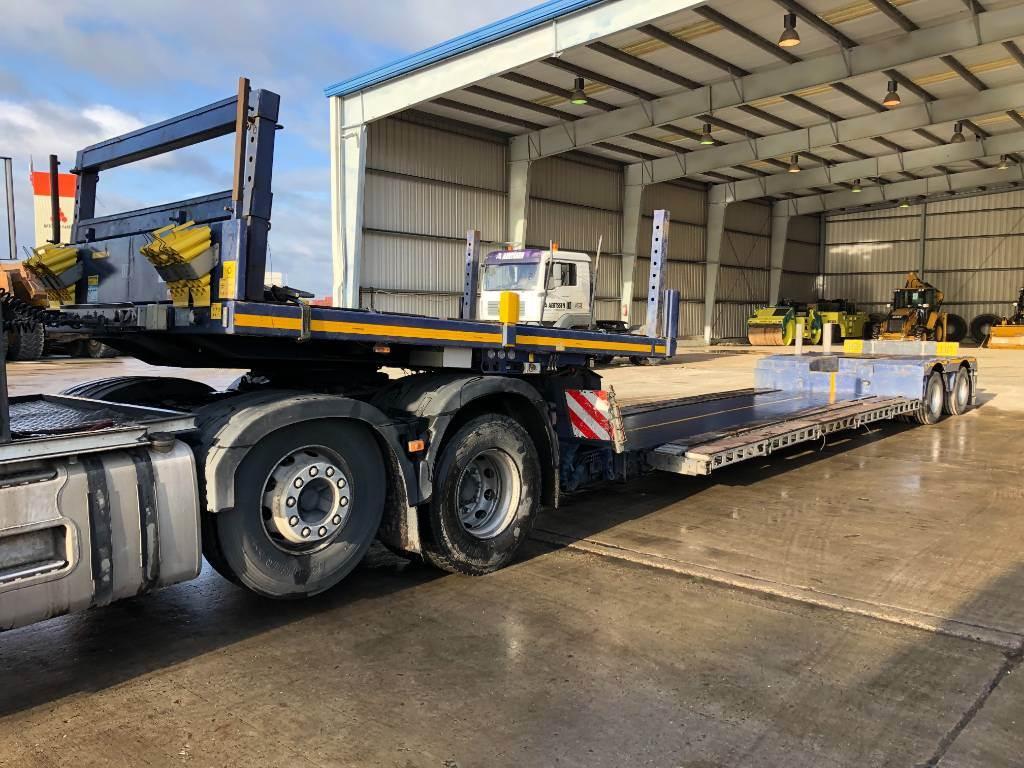 Faymonville F-S42-1ACA smalbed (2pcs), Low loader-semi-trailers, Transportation