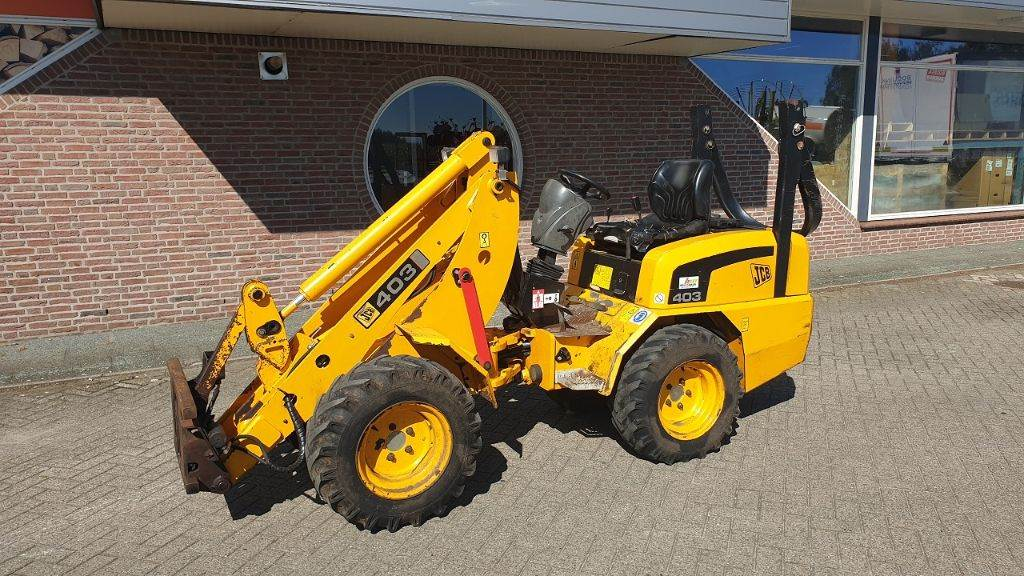 JCB 403, Multi purpose loaders, Agriculture