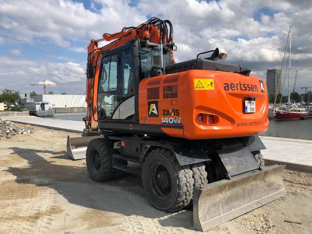 Hitachi ZX 140 W-6, Wheeled excavators, Construction