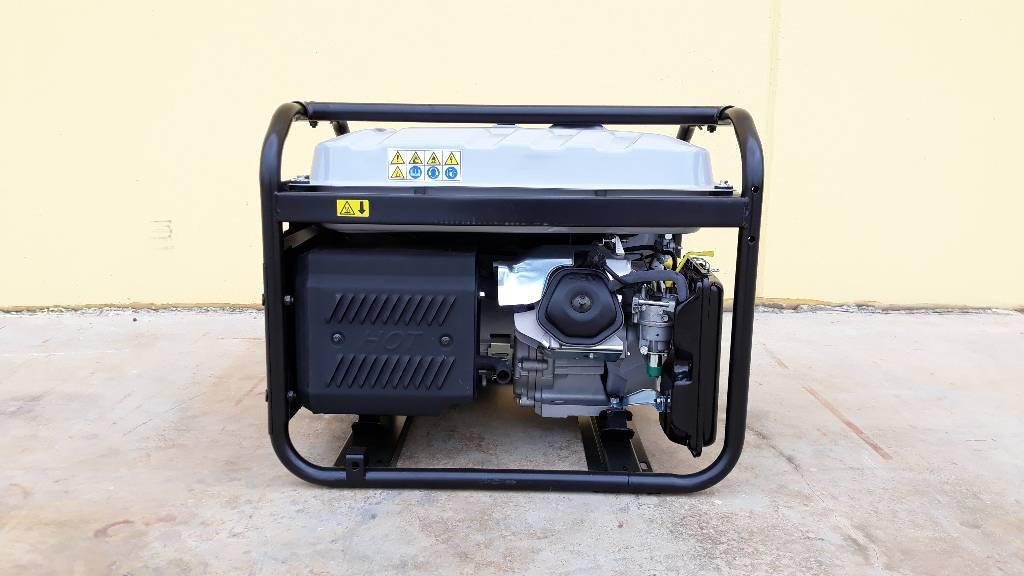 Wacker Neuson MG5-CE, Generatori a benzina, Costruzioni