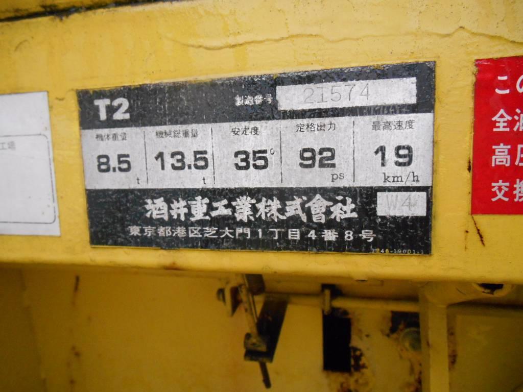 Sakai T2, Pneumatic tired rollers, Construction