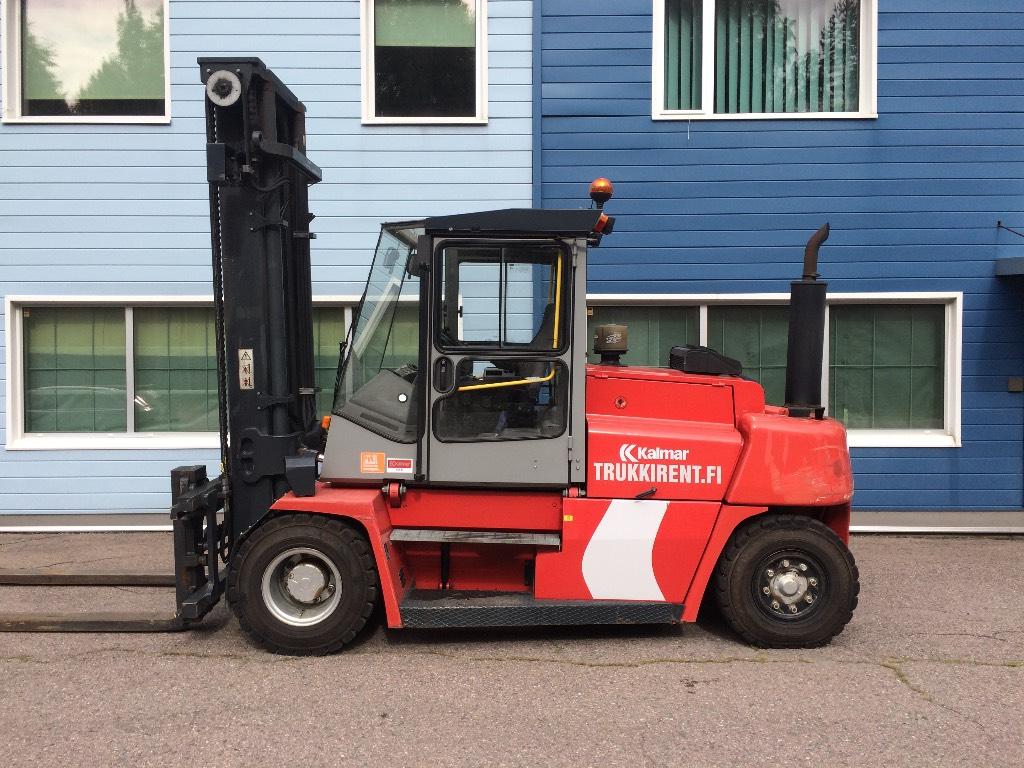 Kalmar DCE 80-9, Dieseltrukit, Materiaalinkäsittely
