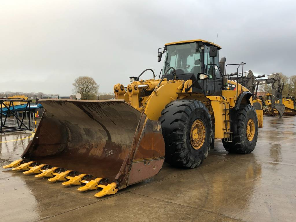 Caterpillar 980 H, Wheel loaders, Construction