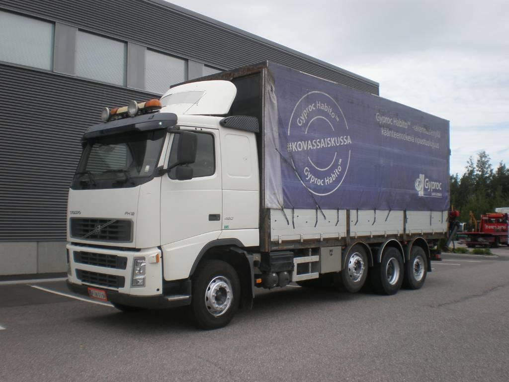 Volvo FH12, Boom / Crane / Bucket Trucks, Trucks and Trailers