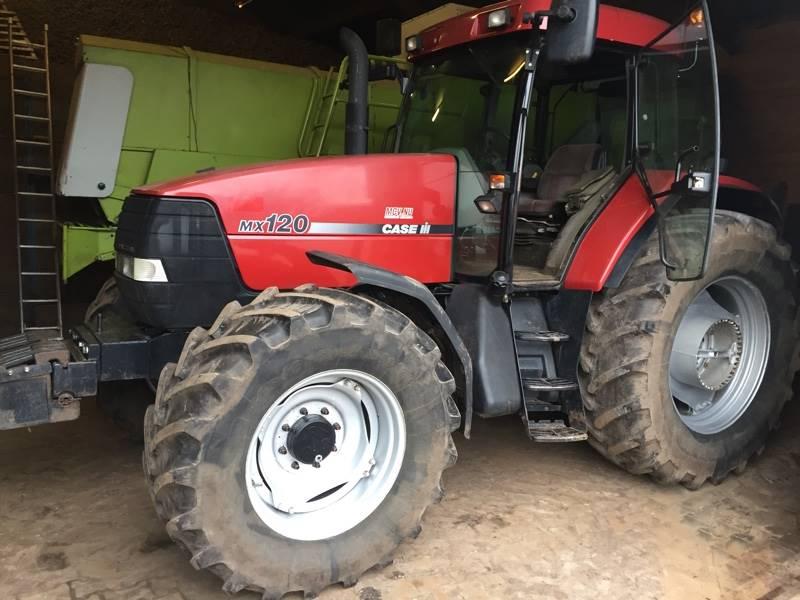 Case IH MX 120, Tractoren, Landbouw