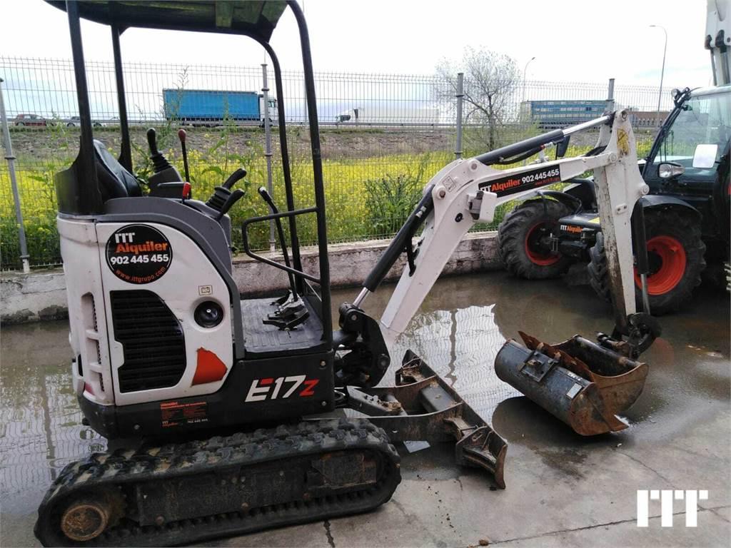 Bobcat E17Z, Mini excavadoras < 7t, Construcción