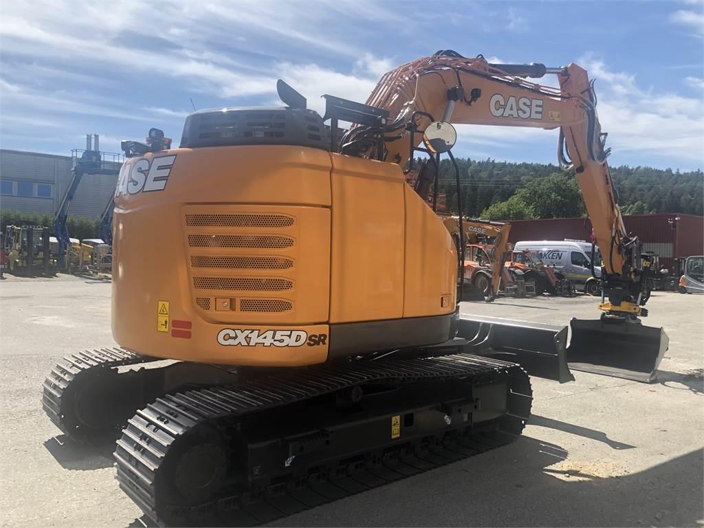 CASE CX145D/SR, Hjullastere, Anleggsmaskiner