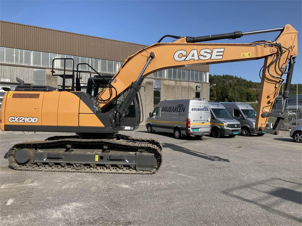 CASE CX210D, Hjullastere, Anleggsmaskiner