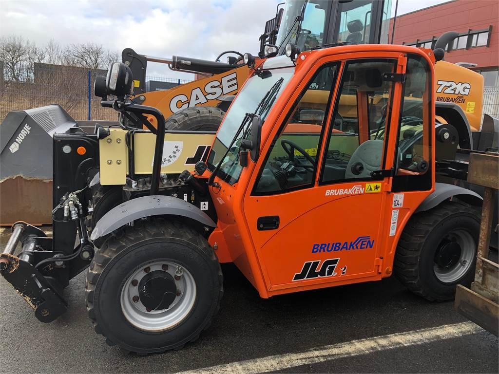 JLG 2505, Andre personløftere og plattformer, Anleggsmaskiner