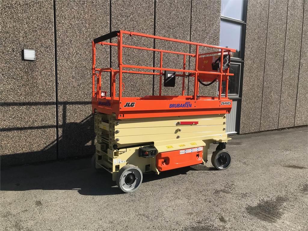 JLG 2646ES, Sakselifter, Anlegg