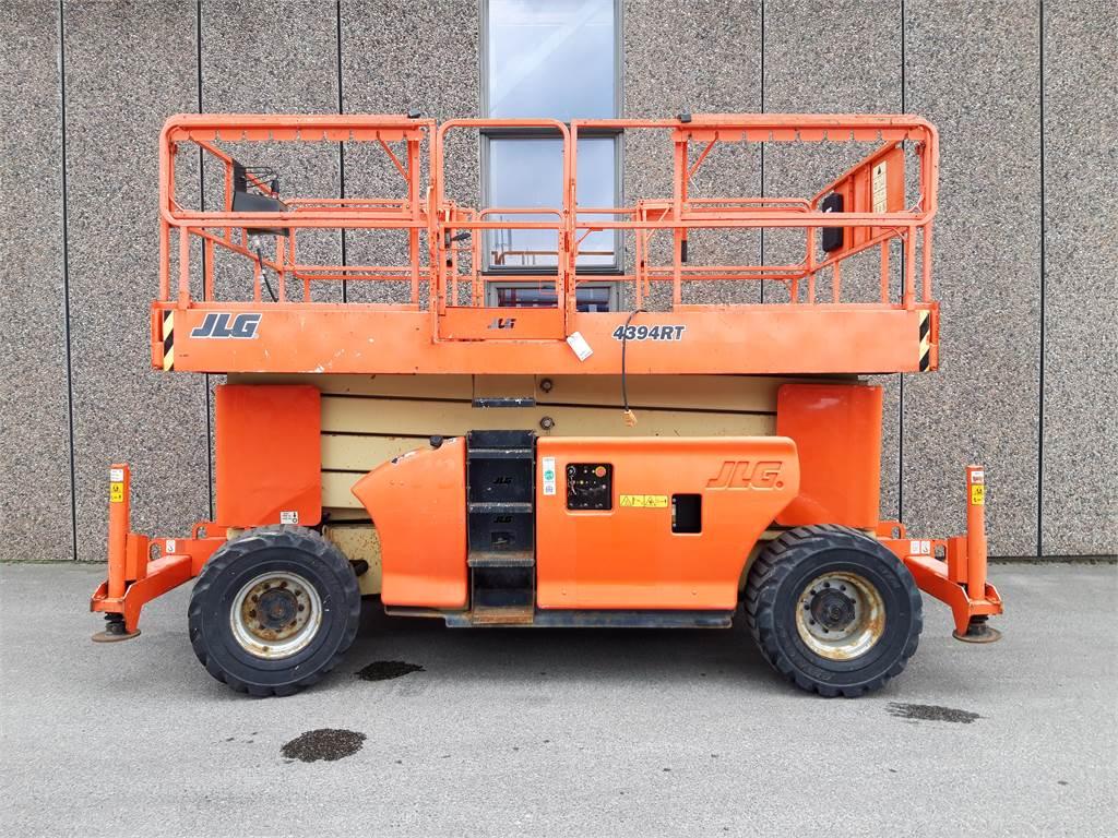 JLG 4394RT, Sakselifter, Anlegg