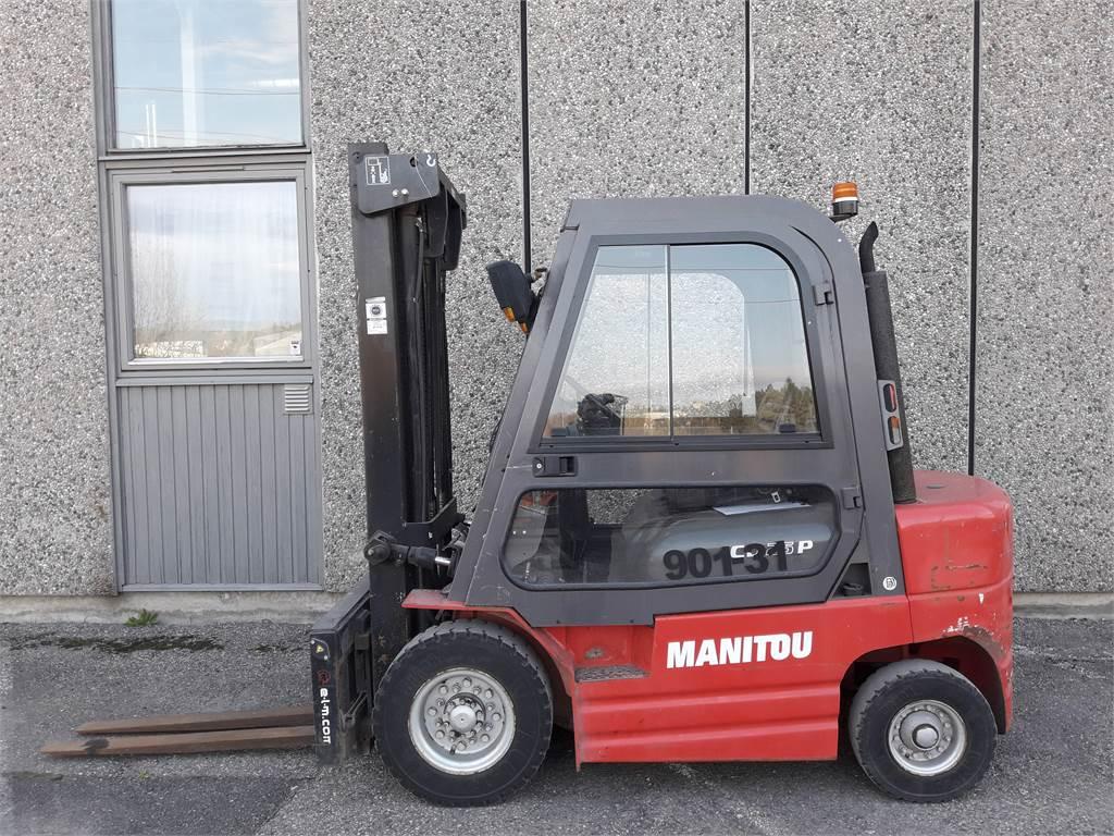 Manitou CD25P, Diesel Trucker, Truck