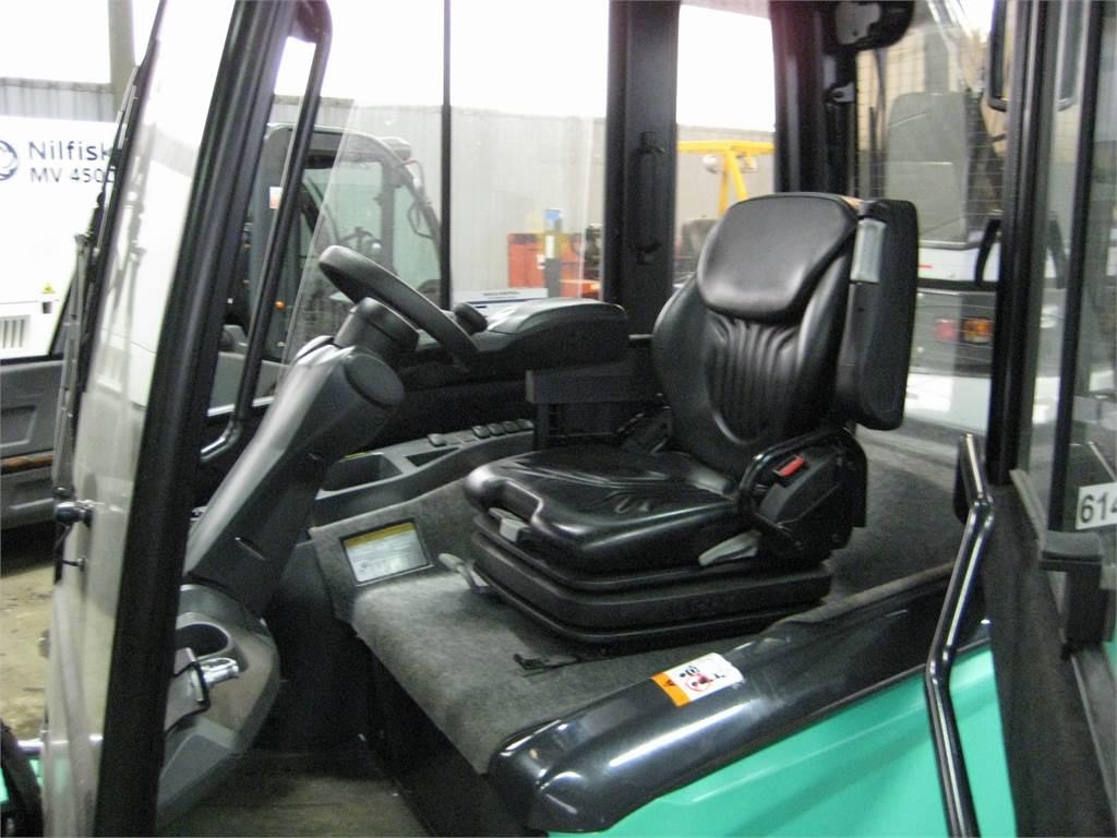 Mitsubishi FB35N, Elektriske trucker, Truck