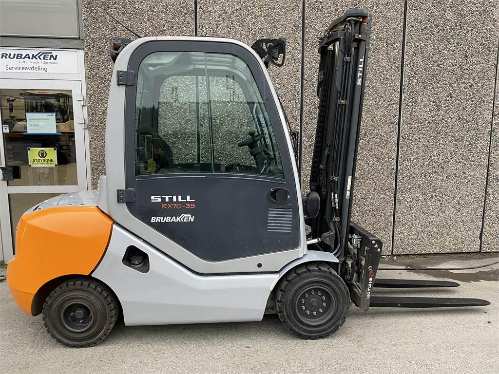 Still RX70/35H, Diesel Trucker, Truck