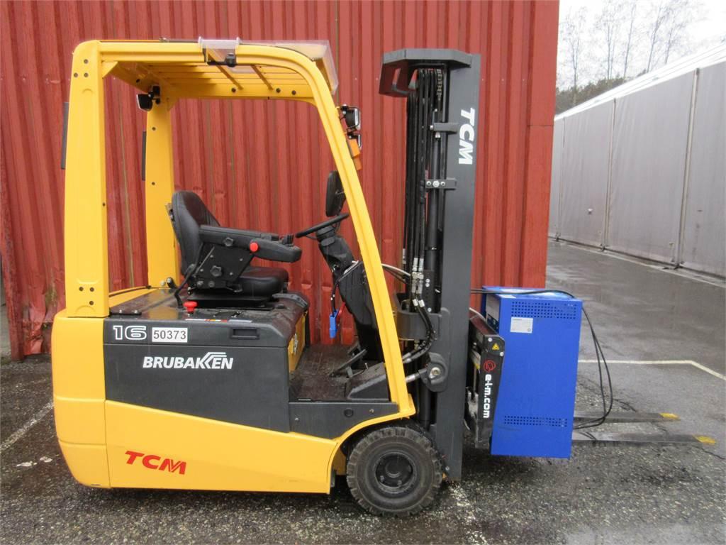 TCM AG1N1L16H, Elektriske trucker, Truck