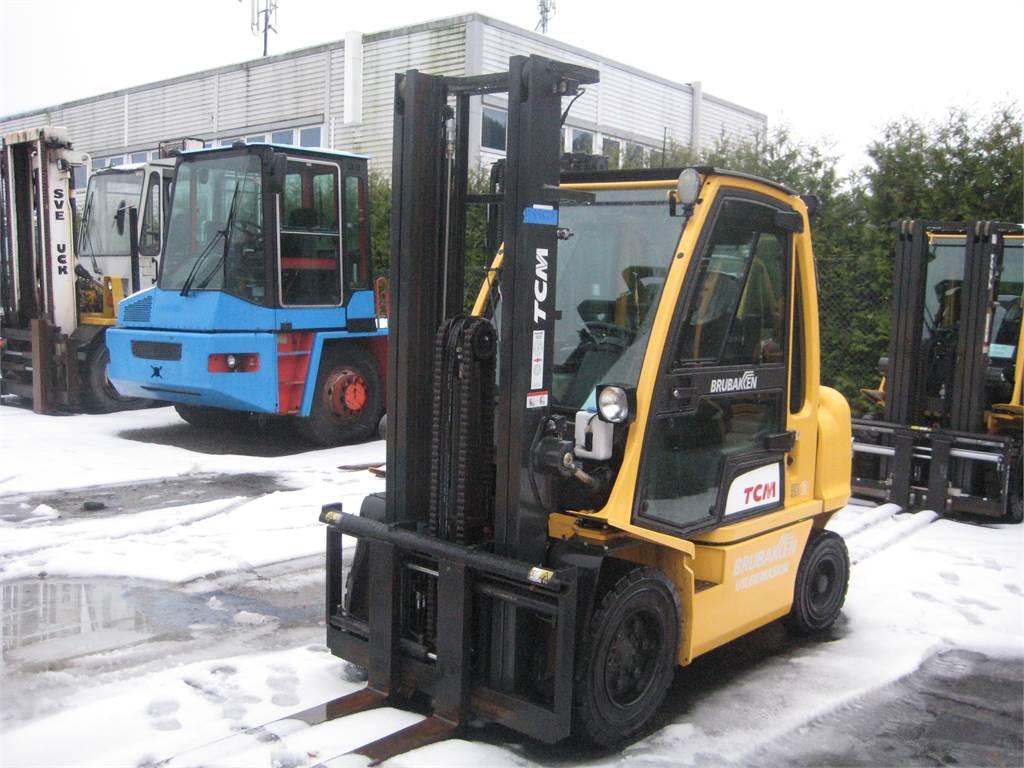 TCM FD32, Diesel Trucker, Truck