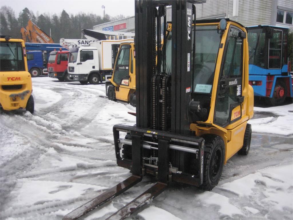 TCM FD32-E1, Diesel Trucker, Truck