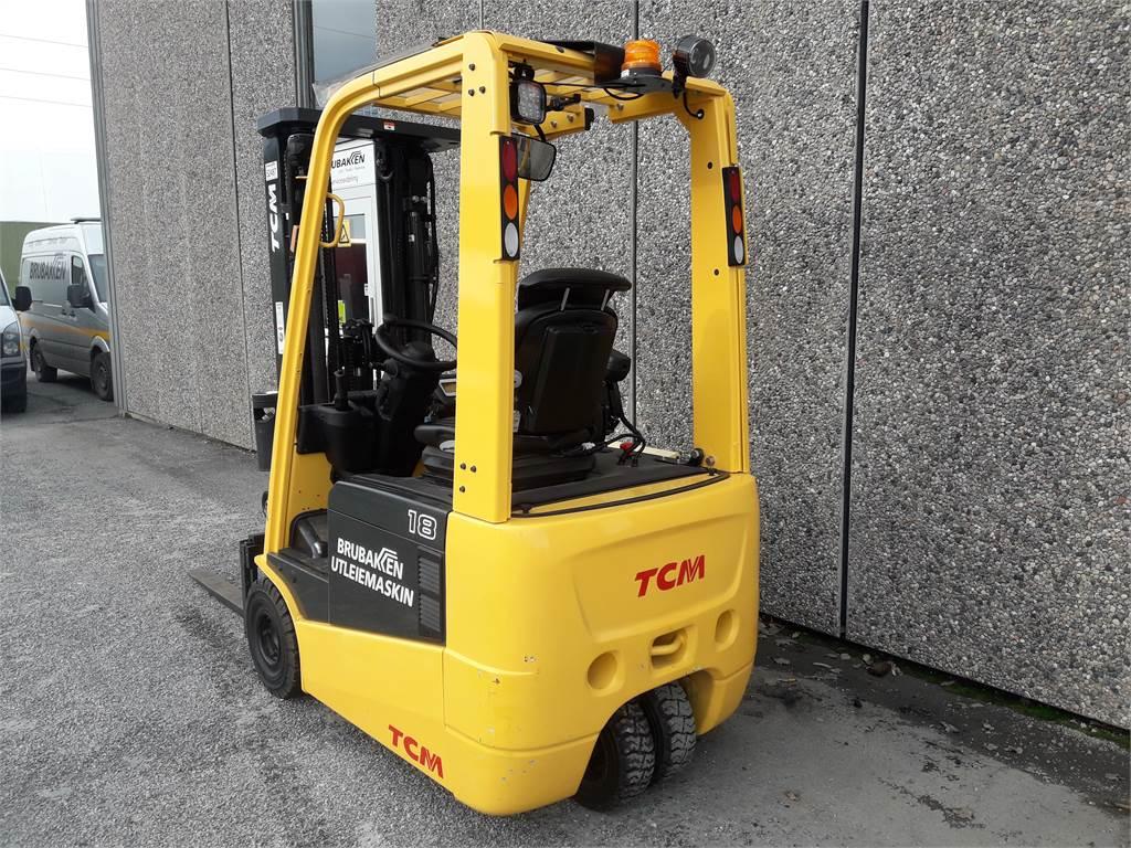 TCM FTB18, Elektriske trucker, Truck