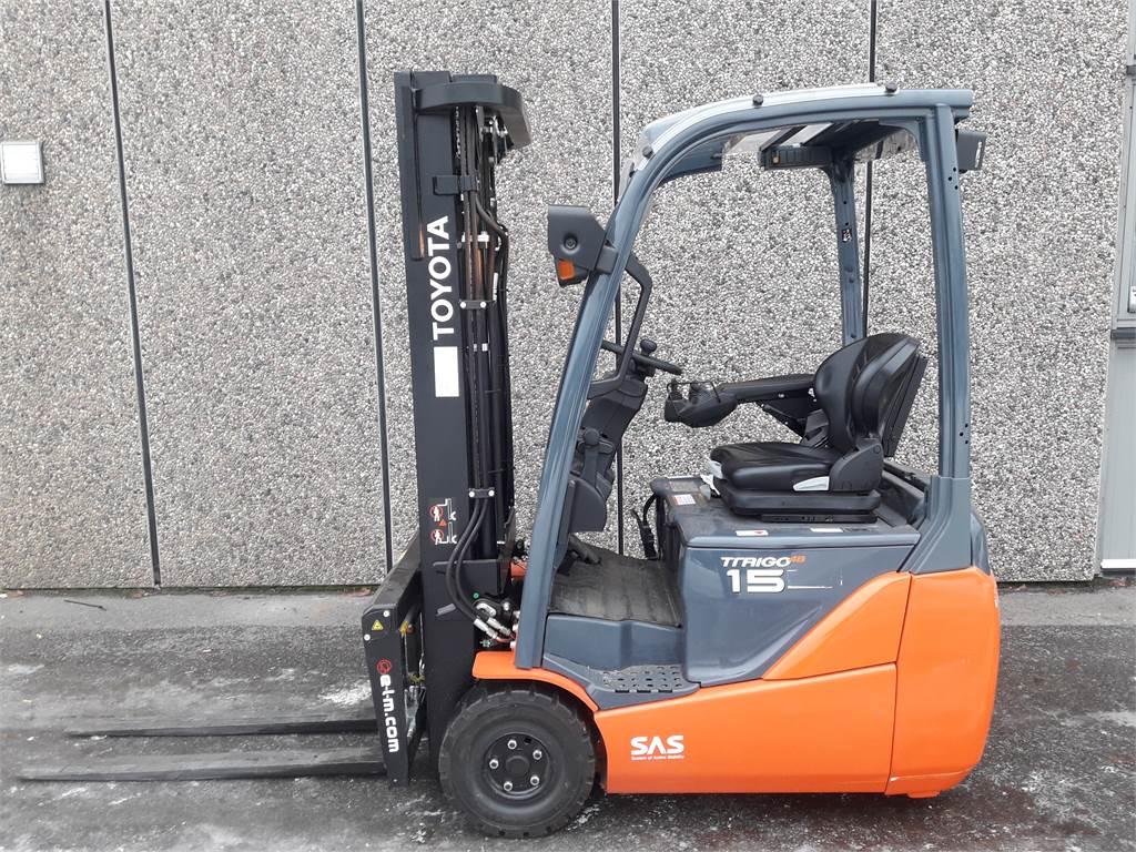 Toyota 8FBET15, Elektriske trucker, Truck