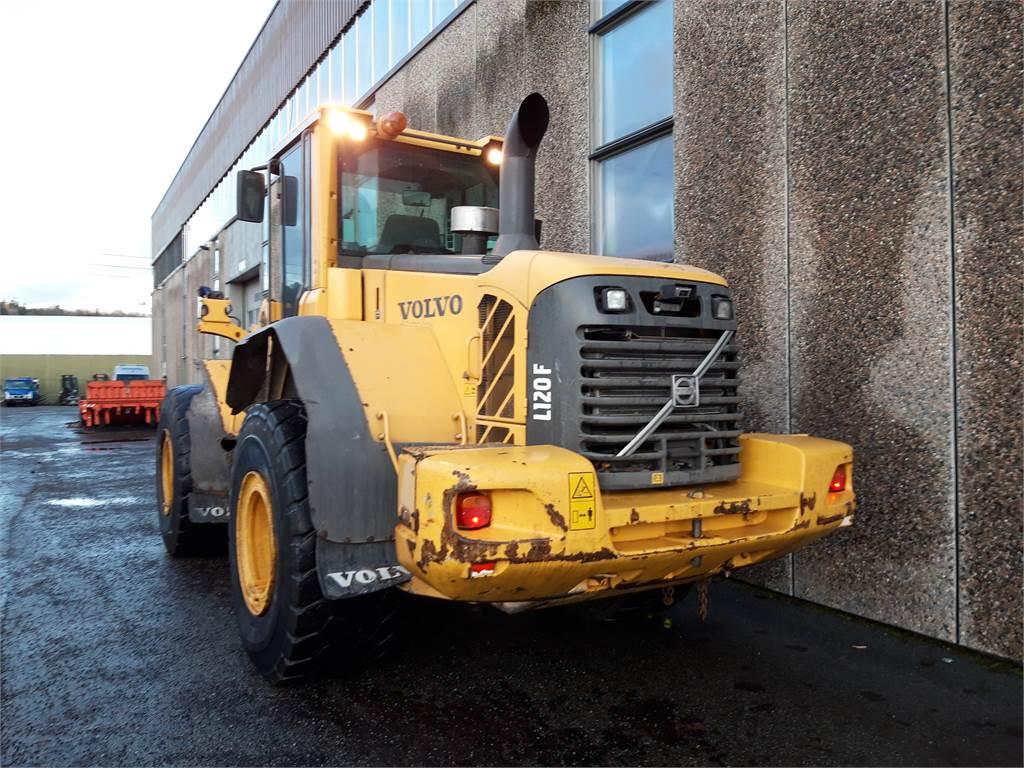 Volvo L120F, Kompaktlastere, Anlegg