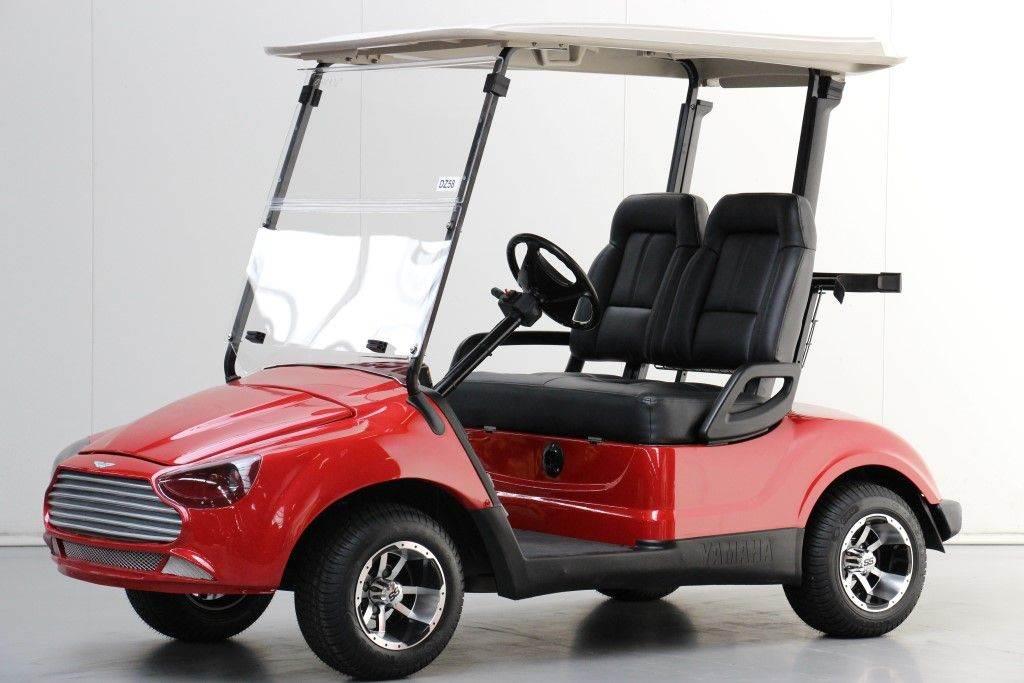 Used yamaha aston martin golf carts year 2008 for sale for Yamaha golf cart id