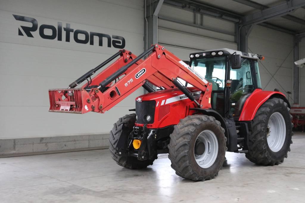 Massey Ferguson 7480 Dyna VT, Traktory, Maszyny rolnicze