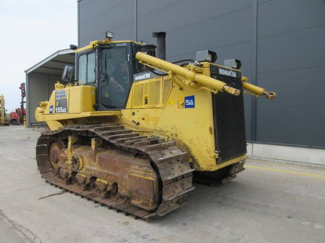 Komatsu D155 AX-6, Crawler dozers, Construction Equipment