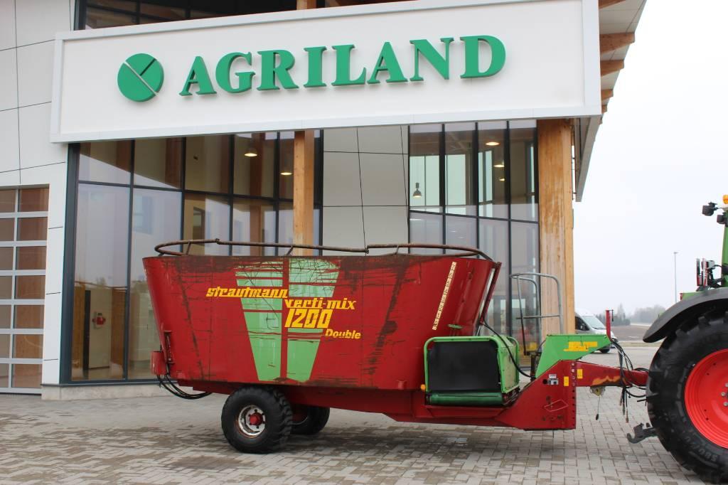 Strautmann verti-mix 1200 double, Söödajagajad/mikserid, Põllumajandus