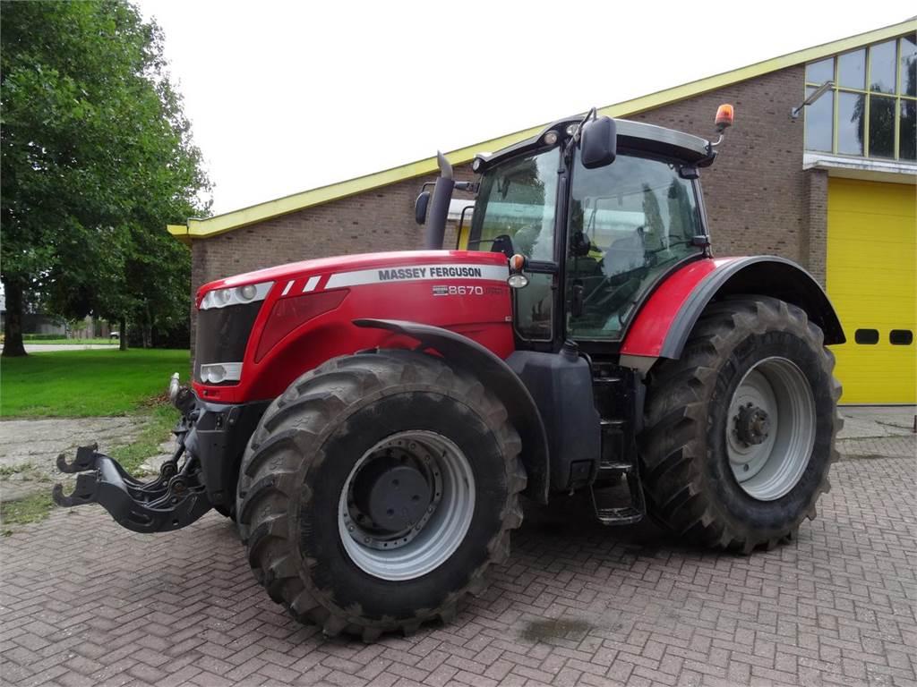 Massey Ferguson 8670, Tractoren, Landbouw