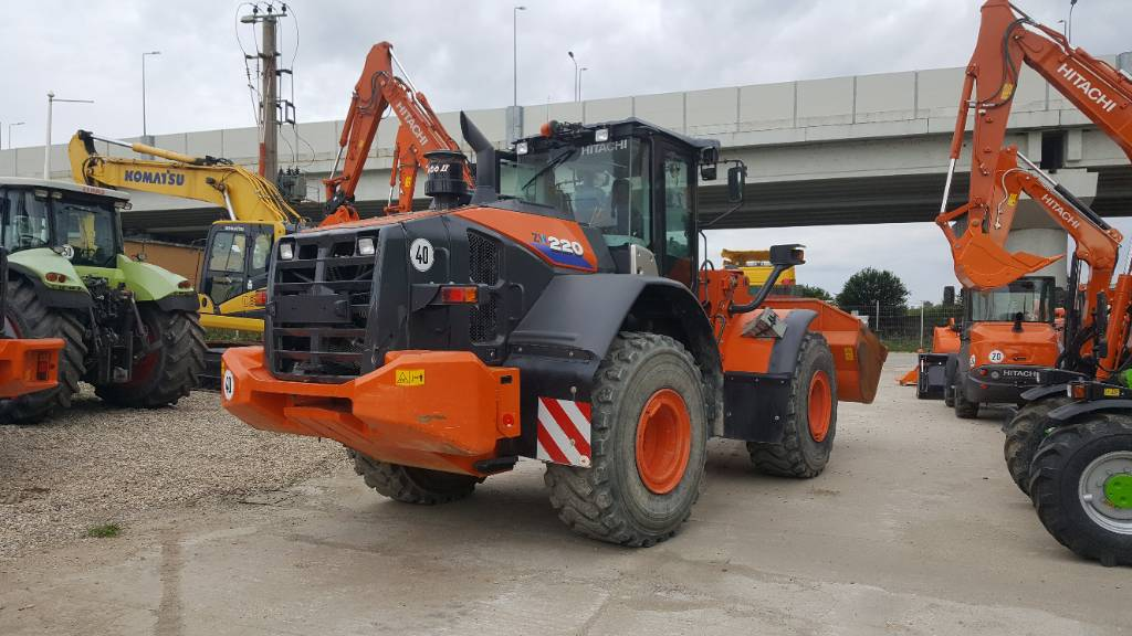 Hitachi ZW220-6, Wheel Loaders, Construction Equipment