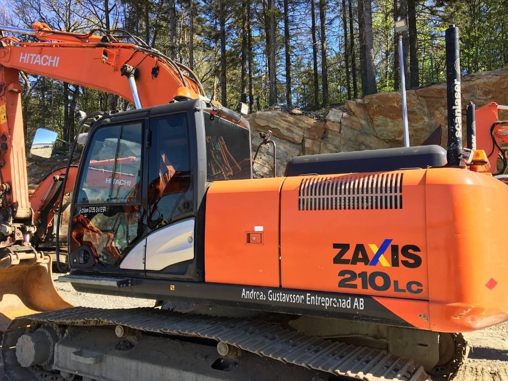 Hitachi ZX 210LC-5/Göteborg, Crawler Excavators, Construction Equipment
