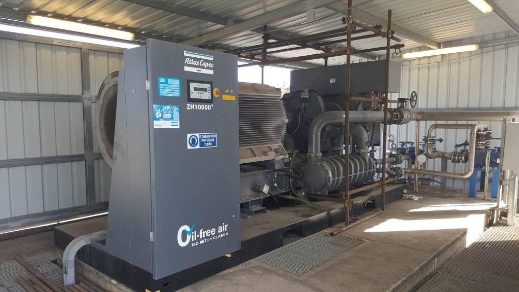 Atlas Copco ZH 10000 - 3stage - FC6 - 8b, Compressors, Industrial