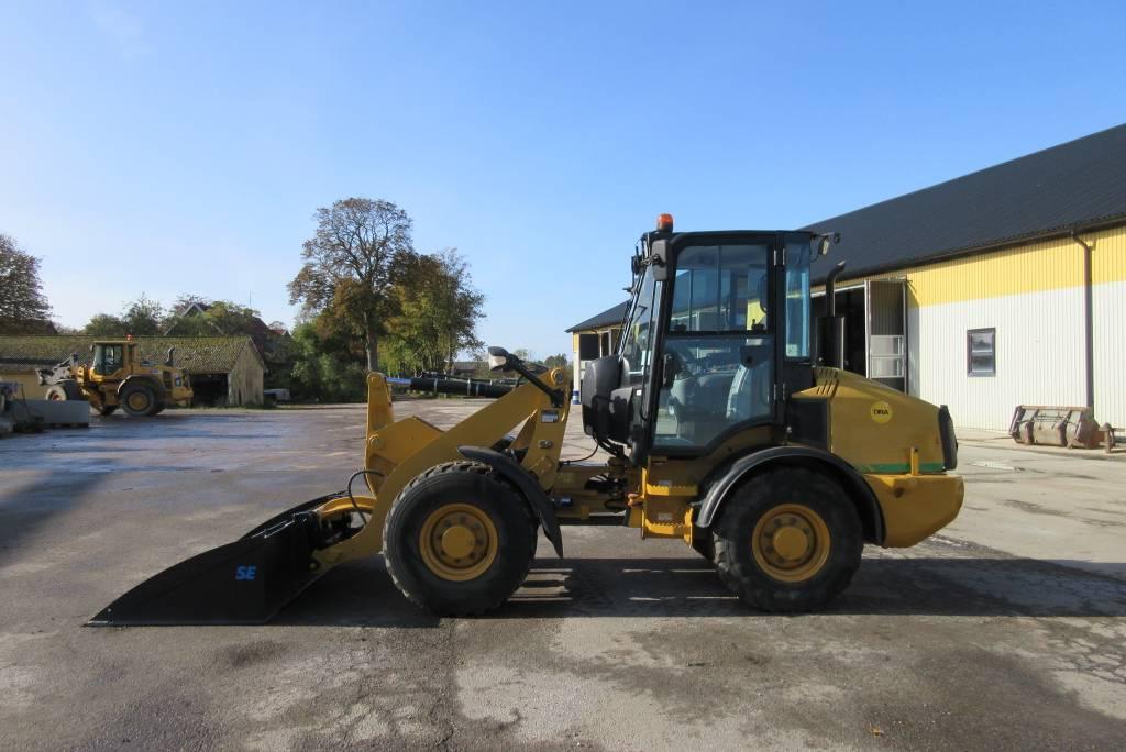 Caterpillar 907H lastmaskin, 35 km/h, lastdämpare, Hjullastare, Entreprenad